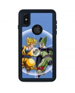 Dragon Ball Z Goku & Cell iPhone XS Waterproof Case