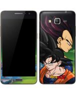 Dragon Ball Z Goku & Vegeta Galaxy Grand Prime Skin