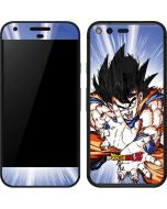 Dragon Ball Z Goku Blast Google Pixel Skin