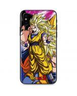 Dragon Ball Z Goku Forms iPhone XS Skin