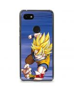 Dragon Ball Z Goku Google Pixel 3a Clear Case