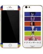 Dragon Ball Z Monochrome 2 iPhone 6/6s Skin