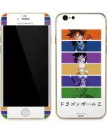 Dragon Ball Z Monochrome iPhone 6/6s Skin