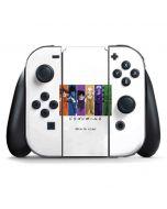 Dragon Ball Z Monochrome Nintendo Switch Joy Con Controller Skin