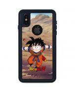Dragon Ball Z Young Gohan iPhone XS Waterproof Case