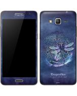 Dragonfly Celtic Knot Galaxy Grand Prime Skin