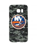 New York Islanders Camo Galaxy S7 Edge Lite Case
