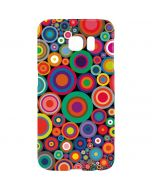 Psychedelic Circles Galaxy S7 Edge Lite Case