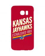 Kansas Jayhawks Established 1865 Galaxy S7 Edge Lite Case