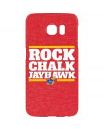 Kansas Rock Chalk Jayhawk Galaxy S7 Edge Lite Case