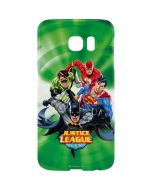 Justice League Team Power Up Green Galaxy S7 Edge Lite Case