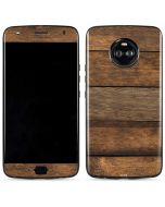 Early American Wood Planks Moto X4 Skin