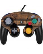 Early American Wood Planks Nintendo GameCube Controller Skin