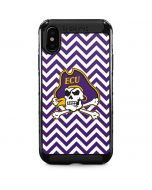 East Carolina Chevron iPhone XS Max Cargo Case