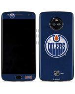 Edmonton Oilers Distressed Moto X4 Skin