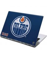 Edmonton Oilers Distressed Yoga 910 2-in-1 14in Touch-Screen Skin