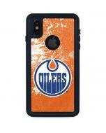 Edmonton Oilers Frozen iPhone XS Waterproof Case