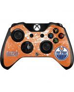 Edmonton Oilers Frozen Xbox One Controller Skin