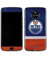 Edmonton Oilers Jersey Moto X4 Skin