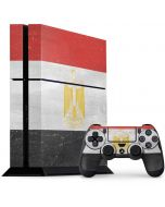 Egyptian Flag Distressed PS4 Console and Controller Bundle Skin