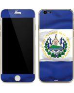 El Salvador Flag iPhone 6/6s Skin