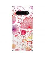 Elegant Flowers Galaxy S10 Plus Skin