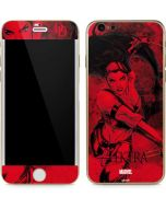 Elektra In Action iPhone 6/6s Skin