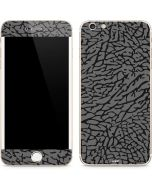Elephant Print Grey iPhone 6/6s Plus Skin