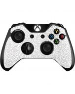 Elephant Print White Xbox One Controller Skin