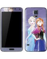 Elsa and Anna Sisters Galaxy S5 Skin