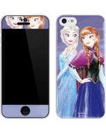 Elsa and Anna Sisters iPhone 5c Skin