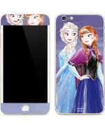 Elsa and Anna Sisters iPhone 6/6s Plus Skin
