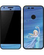 Elsa Icy Powers Google Pixel Skin