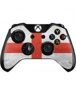 England Flag Distressed Xbox One Controller Skin