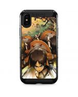 Eren Mikasa And Armin iPhone XS Max Cargo Case
