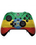 Ethiopia Flag Distressed Xbox One Elite Controller Skin