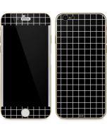 Black Grid iPhone 6/6s Skin
