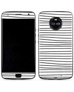 Freehand Stripes Moto X4 Skin