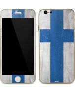 Finland Flag Distressed iPhone 6/6s Skin