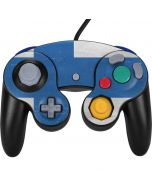 Finland Flag Distressed Nintendo GameCube Controller Skin