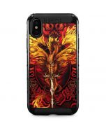 Fire Dragon iPhone XS Max Cargo Case