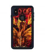 Fire Dragon iPhone XS Waterproof Case