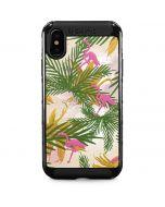 Flamingo Pattern iPhone XS Max Cargo Case