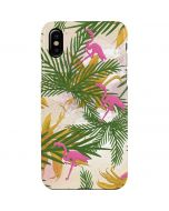Flamingo Pattern iPhone XS Max Lite Case