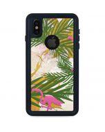Flamingo Pattern iPhone XS Waterproof Case