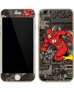 Flash Mixed Media iPhone 6/6s Skin