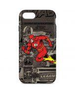 Flash Mixed Media iPhone 8 Pro Case