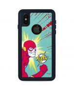 Flash Smile Blast iPhone XS Waterproof Case