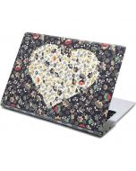 Floral Heart Yoga 910 2-in-1 14in Touch-Screen Skin