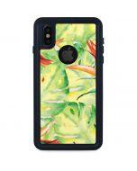 Floral Tropics iPhone XS Waterproof Case
